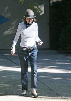 Diane Keaton ~ Dressed down style!