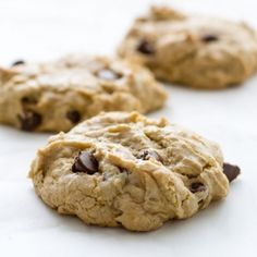 These chocolate chip cookies look and taste so good you'll swear they weren't gluten free.