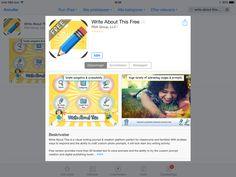 Skrive app til engelsk