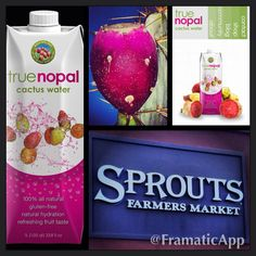 True Nopal Cactus Water! Healthy, hydrating and natural!!
