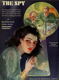 Paul #Muni in The #Spy 1930