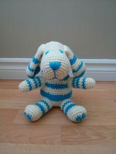 Textual description of firstImageUrl Crochet Amigurumi, Crochet Toys, Knit Crochet, Crochet Dog Patterns, Cute Crochet, Stuffed Toys Patterns, Crochet Animals, Baby Toys, Lana
