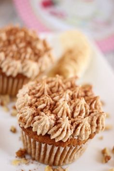 Vegane Süßkartoffelcupcakes - Vegane Süßkartoffelcupcakes Krispie Treats, Rice Krispies, Muffin, Breakfast, Desserts, Food, Awesome, Potato Mashers, Figs