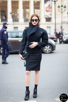 Haute Couture SS 2014 Street Style: Ece Sukan - STYLE DU MONDE   Street Style Street Fashion Photos