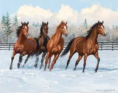 'Frisky Four' by Persis Clayton Weirs