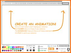 ABCya! has a neat tool to create fun animations online. #elemchat #spedchat #teched One little tip…Click on the screen to start. For s...