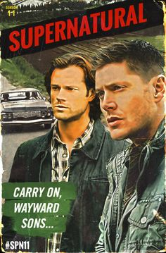 "thecwspn: "" Two brothers. One car. Eleven seasons of adventure. Own #SPN11 on September 6. Season 12 premieres October 13: gwi.io/v9yr9k """