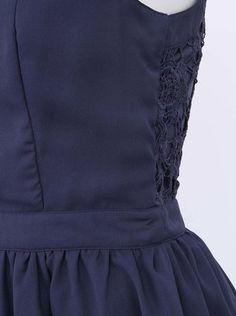 ONLY - Tmavě modré šaty  Yasmin - 1