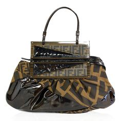 Fendi 'To You' Zucca Convertible Bag http://www.consignofthetimes.com/product_details.asp?galleryid=7615