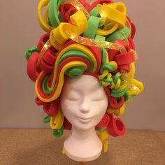Résultats de recherche pour foampruik – All About Hairstyles Costume Wigs, Girl Costumes, Cosplay Costumes, Crazy Hat Day, Crazy Hats, Headdress, Headpiece, Foam Wigs, Wig Hat
