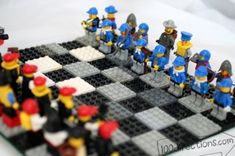 Lego schaakspel