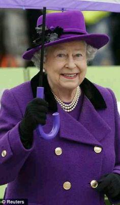 Queen Elizabeth II 10/25/12