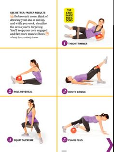 Small Squishy Exercise Ball : 1000+ images about Pilates mini ball on Pinterest Pilates, Exercise ball and Stability ball