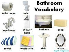 More Bathroom vocabulary