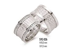 sterling silver wedding band  diamond cut design  by erkmensilver, $69.00