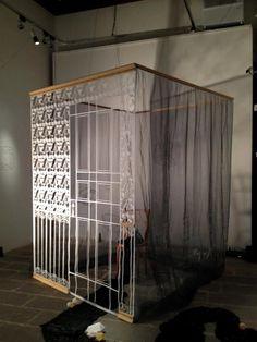 "Tatiana Sarasa. Casal Solleric, Ausstellung 2: ""Premi Ciutat de Palma Antoni Gelabert d'Arts Visuals 2012″ 20/01/2013 – 17/03/2013 | Der Aggro-Mallorcese"