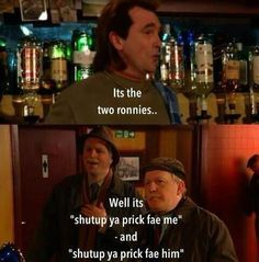 """""""The two Ronnies. Comedy Series, Comedy Show, Funny True Quotes, Funny Memes, Still Game Quotes, The Two Ronnies, Scottish Quotes, Scotland Funny, British Comedy"""