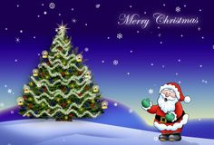 Merry christmas and happy holidays image