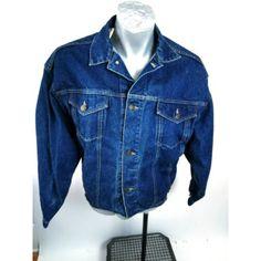 Vintage Calvin Klein Blue Denim Jacket Mens Size M LS Metal Buttons Ending Soon Blue Denim Jacket Mens, Denim Jackets, Vintage Jacket, Vintage Denim, Calvin Klein, Vintage Outfits, Vintage Clothing, Klein Blue, Metal Buttons