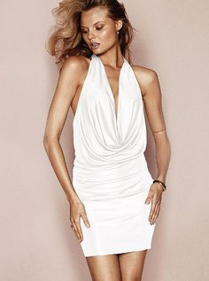 5bc27d504c3 Cowlneck Sleeveless Dress  VictoriasSecret http   www.victoriassecret.com
