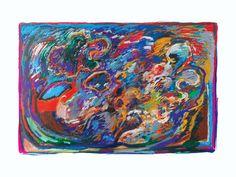 Willem Claassen (Artist from Amsterdam -The Netherlands) Abstract work 02 2015