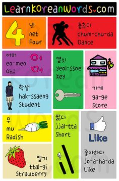 Korean Words and Phrases for TOPIK Beginner 0