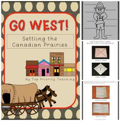 3 Weeks of Activities for Alberta Grade 4 and 5 Social Studies teachers!  {Paid Product}