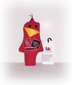 Cocky Gamecock Game Day Doll,Stress Anger DE-Stress Mad Grab It USC Cocky Doll,University Of South Carolina,Karma Dammit Doll EerieBeth EB14 by SheCollectsICreate on Etsy