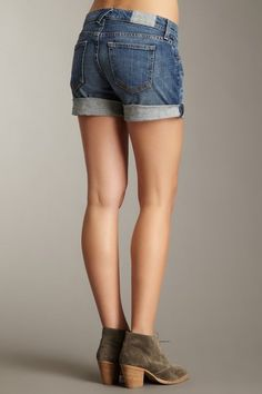 actually modest denim shorts