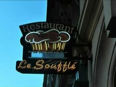 Restaurants Paris - Le Soufflé