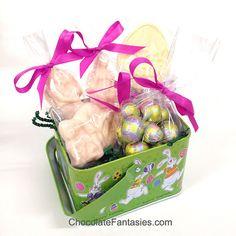 XRated Adult Easter Basket with Chocolate by IslandGirlGourmet, $15.00 #adulteater #adulteasterbasket #eroticeaster #xratedeaster