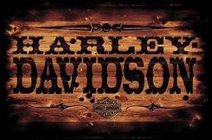 Harley Davidson Signs, Harley Davidson Wallpaper, Harley Davidson Motorcycles, Hd Motorcycles, Ride Or Die, Vintage Logo, Motorcycle Logo, Harley Davison, Harley Bikes