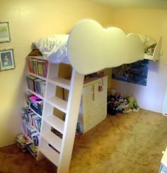 DIY cloud loft bed