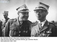 General Stanislaw Maczek, Lieutenant Colonel. F. Skibinski.