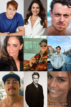 Home And Away Cast, Social Media Stars, Dean, Famous People, It Cast, Actors, Hair Styles, Model, Summer