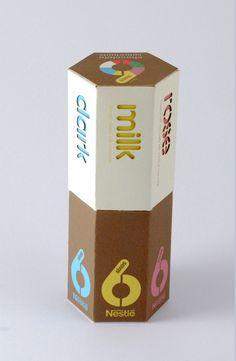 Chocolate Box Design (Nestle) by Michael Turner, via Behance