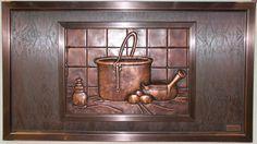 kitchen tile backsplash murals - Google Search