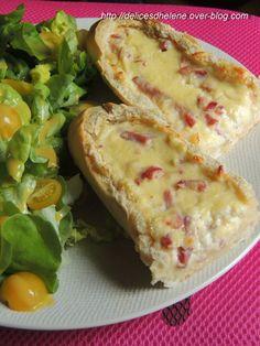 millefeuille aubergine, tomate et mozzarella - rachel et sa