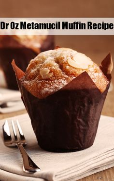 Do you have high cholesterol? Dr. Oz has a Metamucil muffin recipe that will lower your cholesterol.