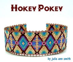 This item is unavailable Bead Loom Bracelets, Peyote Beading, Beaded Bracelet Patterns, Jewelry Patterns, Peyote Stitch Patterns, Bead Loom Patterns, Beading Patterns, Bracelet Patterns, Weaving