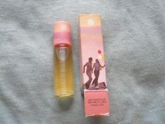 Avon cream perfume pin   ... Early 1970s Avon Sweet Honesty Roll on Perfume Bottle Full w
