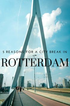 If you're looking for an alternative European city break you can't go wrong with ultra modern Rotterdam, undoubtedly the coolest city in the Netherlands. Travel Checklist, Travel Advice, Travel Guides, Travel Articles, European Travel Tips, Travel Europe, Solo Travel, Weekend City Breaks, European City Breaks