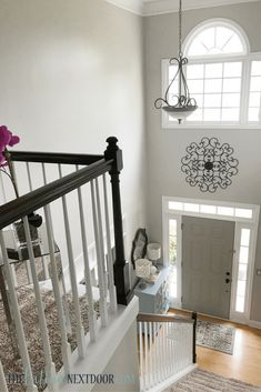 How To Decorate A Two Story Foyer Clever Little Life