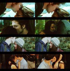 Edward and Bella - forehead kisses