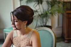 Great bridal hair with a retro look - Biance and Daniel - Marianne Taylor Photography wedding