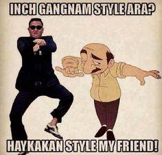 LMAO gangnam style ara