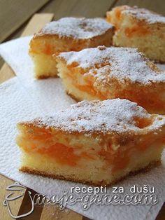 Kolač sa tikvom - Moje grne Donut Recipes, Fruit Recipes, Desert Recipes, Sweet Recipes, Baking Recipes, Cake Recipes, Albanian Recipes, Croatian Recipes, Pie Cake
