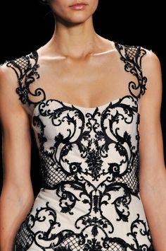 Monique Lhuillier at New York Fashion Week Fall 2014 - StyleBistro