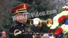 HD233-026 Free Stock Footage from BottledVideo.com US Marine Corp bugler blows Taps at Arlington National Cemetery.