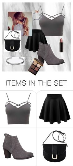"""""""The_New_Girl"""" by lilysniebuhr ❤ liked on Polyvore featuring art and plus size clothing"""